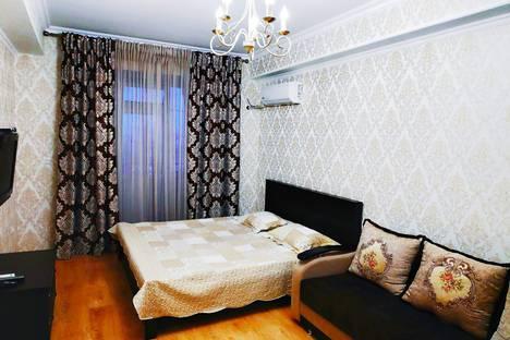 Сдается 1-комнатная квартира посуточно в Махачкале, ул.М.Горького 85Б.