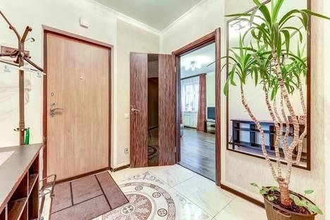 Сдается 3-комнатная квартира посуточно в Санкт-Петербурге, улица Джона Рида, 4к1.