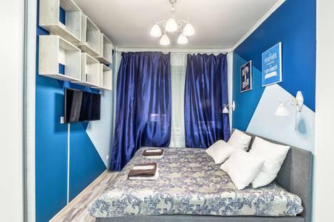 Сдается 1-комнатная квартира посуточно в Люберцах, Московская область,Вертолетная улица, 4/1.
