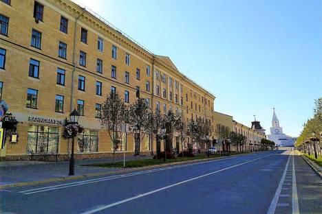 Сдается 3-комнатная квартира посуточно в Казани, Республика Татарстан,Кремлевская улица, 2А/4.