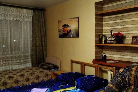 Сдается 1-комнатная квартира посуточно в Рыбинске, Ярославская область,Центральный район, Центральный микрорайон, улица Герцена, 97.