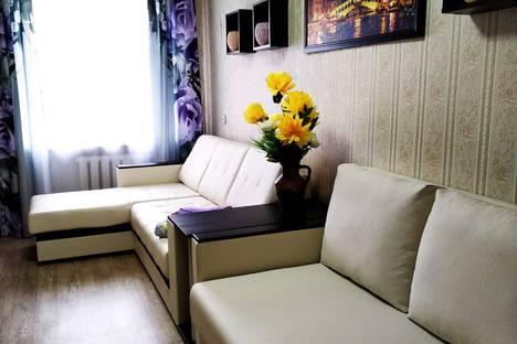 Сдается 2-комнатная квартира посуточно в Рыбинске, Ярославская область,Центральный район, Центральный микрорайон, улица Кольцова, 2.