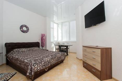 Сдается 1-комнатная квартира посуточно в Феодосии, Республика Крым,Черноморская набережная, 1Г.