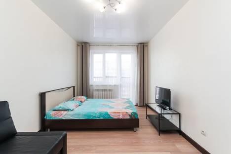 Сдается 1-комнатная квартира посуточно в Новосибирске, улица Мясниковой, 6/3, подъезд 3.