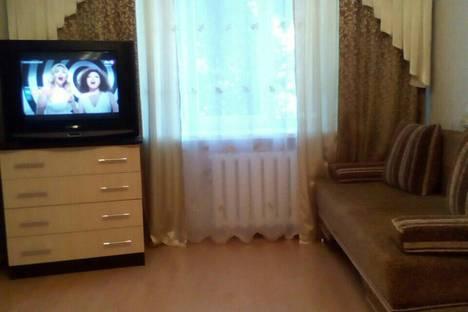 Сдается 1-комнатная квартира посуточно, проспект Октября, 25.