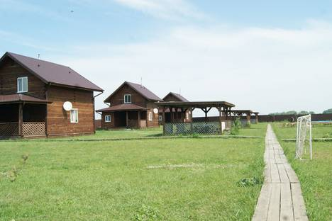Сдается коттедж посуточно, Новосибирск Марусино.