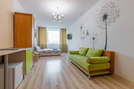 Сдается 1-комнатная квартира посуточно в Екатеринбурге, улица Степана Разина, 2.