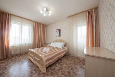 Сдается 3-комнатная квартира посуточно в Красноярске, улица Республики, 33А.