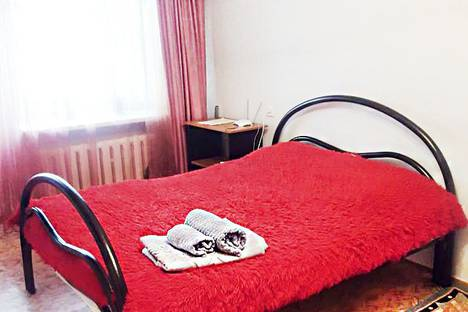 Сдается 1-комнатная квартира посуточно, улица Лермонтова, 45/1.