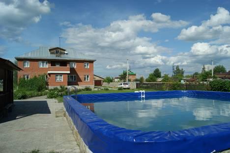Сдается коттедж посуточно в Оби, Новосибирский район, сельское поселение Криводановский сельсовет, село Марусино.