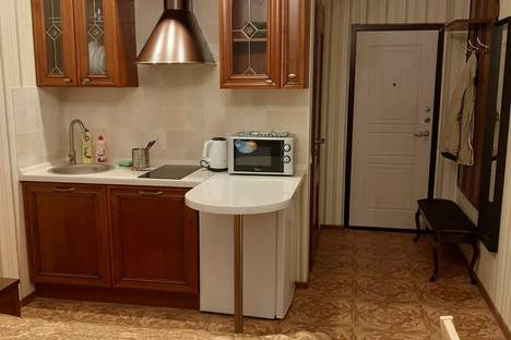 Сдается 1-комнатная квартира посуточно в Екатеринбурге, Орджоникидзевский район, микрорайон Эльмаш, улица Фрезеровщиков, 5.