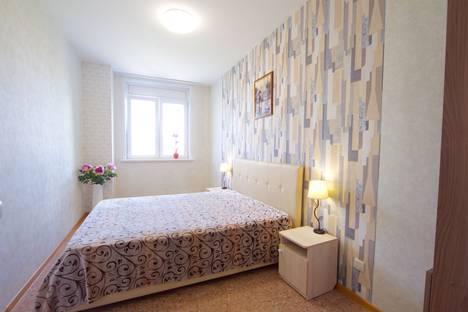 Сдается 3-комнатная квартира посуточно в Красноярске, улица Алексеева, 51.