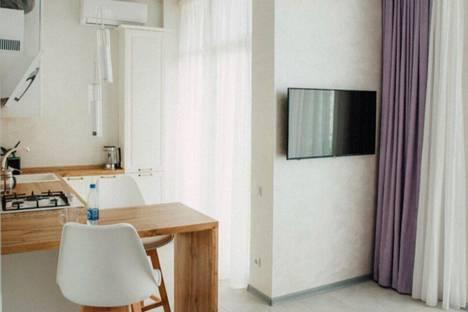 Сдается 1-комнатная квартира посуточно в Адлере, улица Павлика Морозова, 24.