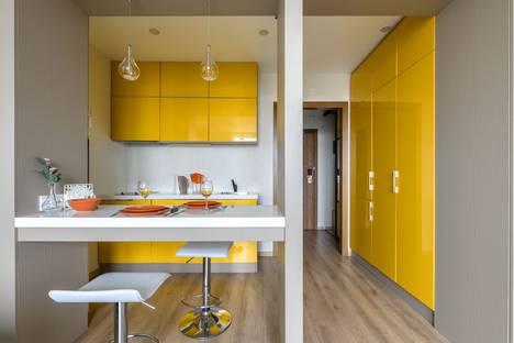 Сдается 1-комнатная квартира посуточно в Санкт-Петербурге, улица Хошимина, 16.
