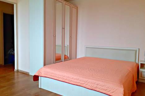 Сдается 1-комнатная квартира посуточно в Великом Новгороде, Псковский район, Псковская улица, 58.
