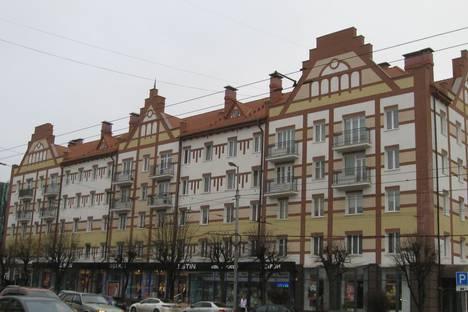 Сдается 1-комнатная квартира посуточно в Калининграде, Ленинский проспект, 12.