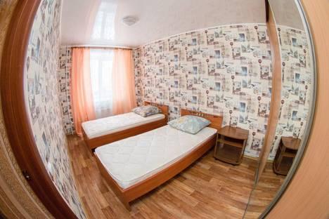 Сдается 2-комнатная квартира посуточнов Томске, улица Советская, д.105.