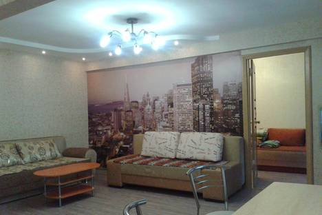 Сдается 2-комнатная квартира посуточно в Красноярске, рн кировский , пр красноярский рабочий . ул западная д12.