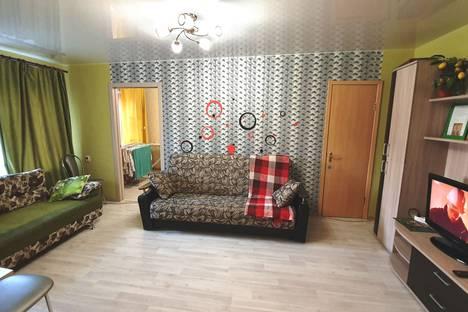 Сдается 2-комнатная квартира посуточно, проспект Карла Маркса 89.