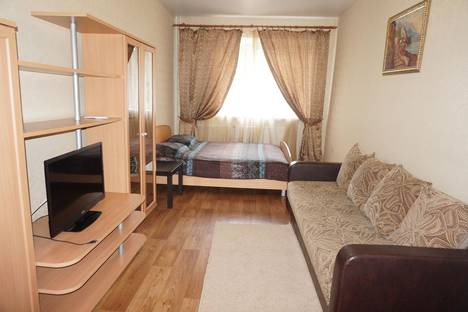 Сдается 1-комнатная квартира посуточнов Уфе, проспект Октября, 174/2.