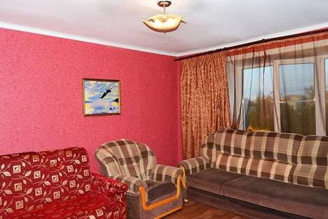 Сдается 2-комнатная квартира посуточно в Хабаровске, ул. Некрасова, 55.