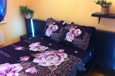 Сдается 2-комнатная квартира посуточно в Екатеринбурге, ул. Красных Командиров, 25.
