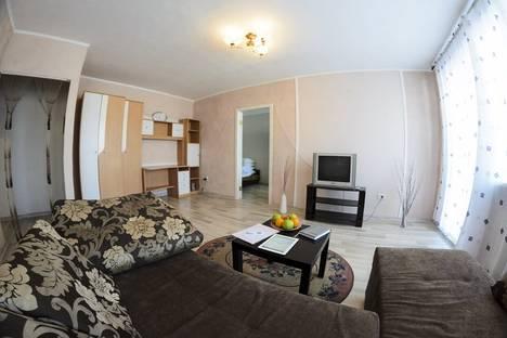 Сдается 2-комнатная квартира посуточнов Новокузнецке, ул. Ермака, 18.