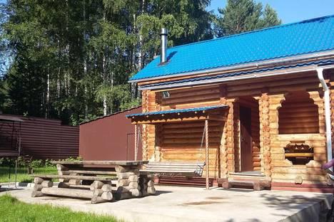 Сдается коттедж посуточно в Красноярске, Красноярское водохранилище, район залива Шумиха, д.7.