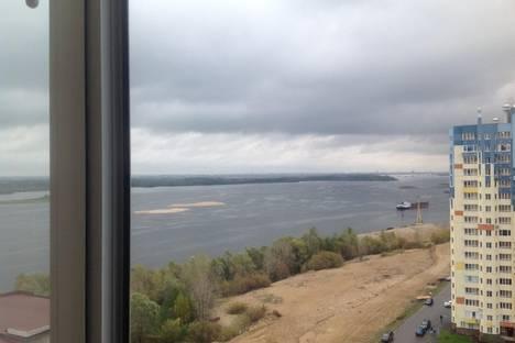 Сдается 1-комнатная квартира посуточнов Нижнем Новгороде, Волжская набережная, 19.