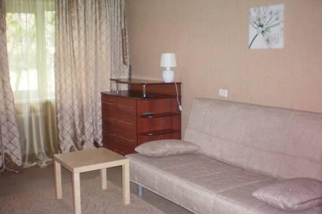 Сдается 1-комнатная квартира посуточно в Новосибирске, ул. Гурьевская, 43.