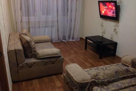 Сдается 2-комнатная квартира посуточно в Альметьевске, ул. Ризы Фахретдина, 36.