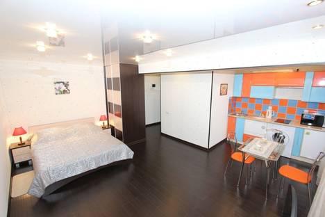 Сдается 1-комнатная квартира посуточно в Красноярске, им газеты Красноярский Рабочий проспект, 173.