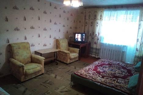 Сдается 1-комнатная квартира посуточно, Ф. Алексеева 37.