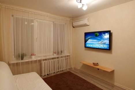 Сдается 1-комнатная квартира посуточнов Пятигорске, ул. Адмиральского, д. 2к1.
