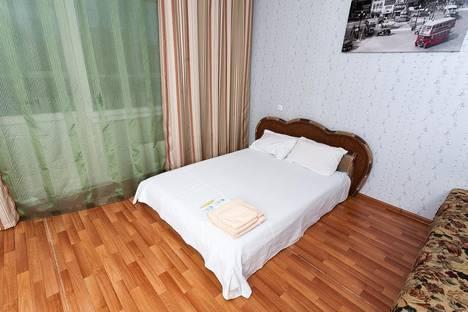 Сдается 1-комнатная квартира посуточно в Красноярске, ул. Серова, 10.