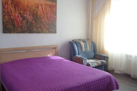 Сдается 1-комнатная квартира посуточно, Чернышевского 8.