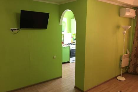 Сдается 1-комнатная квартира посуточнов Октябрьском, Комарова 21.
