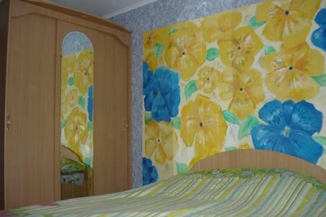 Сдается 2-комнатная квартира посуточно в Барнауле, Красноармейский проспект, 111.