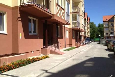 Сдается 1-комнатная квартира посуточно в Зеленоградске, ул. Приморская, 15.