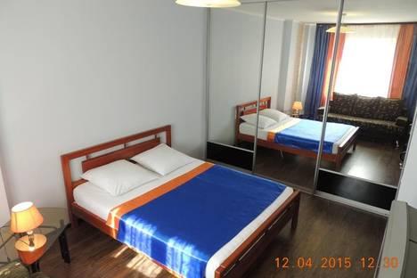Сдается 1-комнатная квартира посуточнов Архангельске, проспект Обводный Канал, 76.
