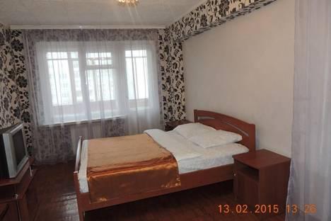 Сдается 1-комнатная квартира посуточнов Архангельске, ул. Воскресенская, 100.
