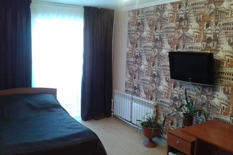 Сдается 1-комнатная квартира посуточнов Нягани, 1 мкр-он. дом 20.