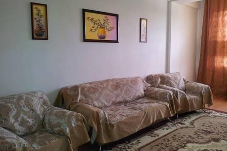 Сдается 2-комнатная квартира посуточно в Махачкале, Гаджиева д.45.