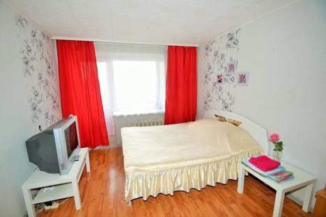 Сдается 1-комнатная квартира посуточно в Уфе, проспект Октября, 44/2.