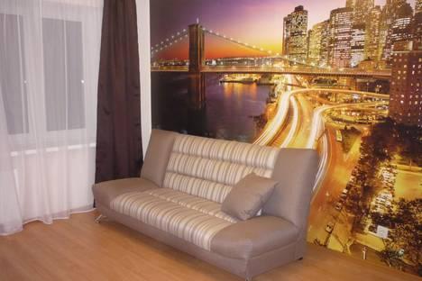 Сдается 1-комнатная квартира посуточнов Великом Новгороде, Завокзальная 7.