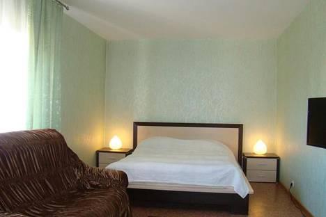 Сдается 1-комнатная квартира посуточно в Печорах, улица Псковская, 41.
