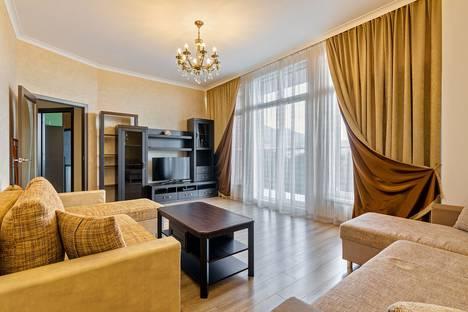 Сдается 2-комнатная квартира посуточно в Геленджике, улица микрорайон Магнолия, 2а.