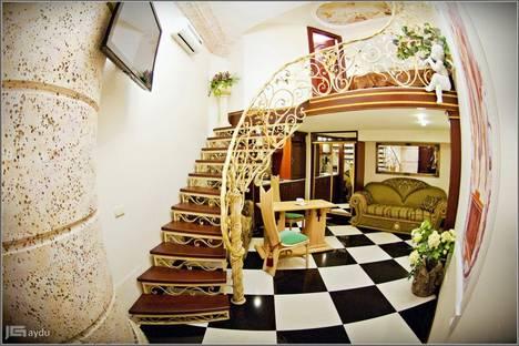 Сдается 1-комнатная квартира посуточно в Одессе, улица Дерибасовская 17.