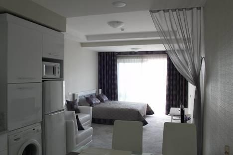 Сдается 1-комнатная квартира посуточно в Алуште, Краснофлотская ул., 1.