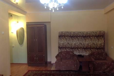 Сдается 1-комнатная квартира посуточно в Алматы, Жибек жолы 110.